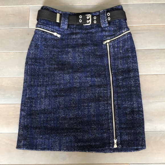 Marc Jacobs Dresses & Skirts - Marc Jacobs blue wool tweed skirt 4
